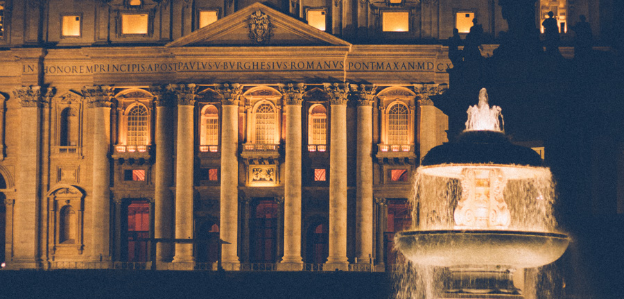 St. Peter's Sqaure, Rome Italy
