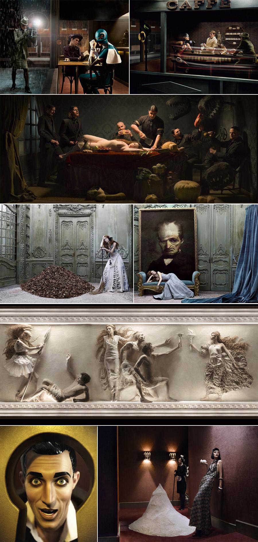 Eugenio Recuenco Collage