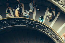 Musei Vaticani, Stairs